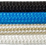 Double Braided 100% Nylon Rope 100-ft x 1/2-inch